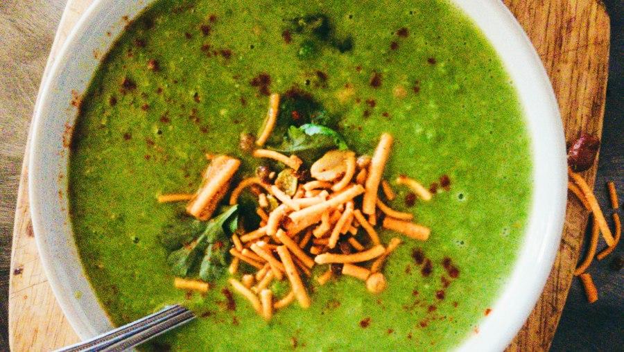 Pea-nut Soup